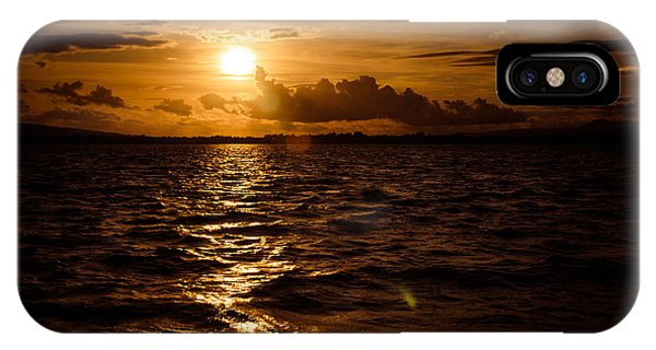 Sunset Over The Cunnigar IPhone Case