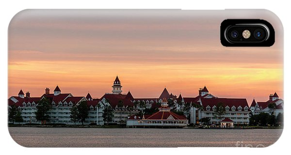 Sunset Over The Grand Floridian IPhone Case