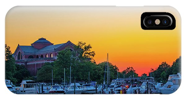 Sunset Over The National War College  IPhone Case