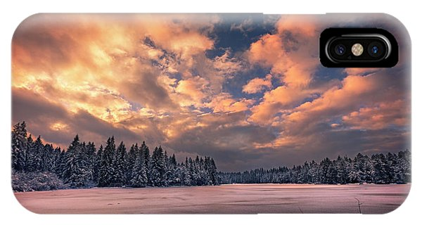 Sunset Over The Pound IPhone Case