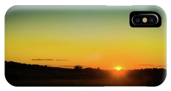 Kettles iPhone Case - Sunset Over The Prairie by Scott Norris