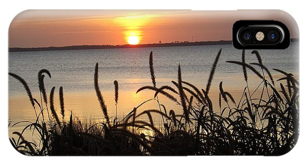 Sunset Over The Sound  IPhone Case