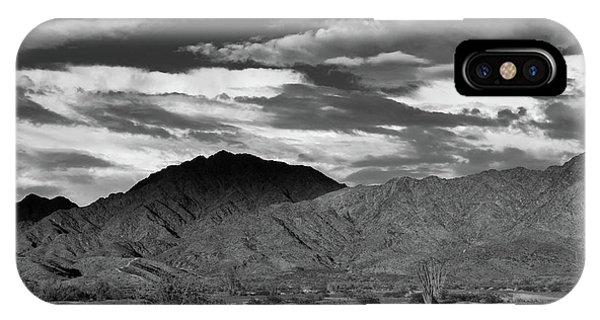 Sunset Over Yuma Mountain IPhone Case