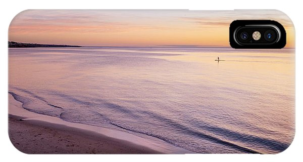 IPhone Case featuring the photograph Sunset Paddle by Ray Warren