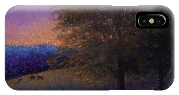 Sunset Pasture IPhone Case