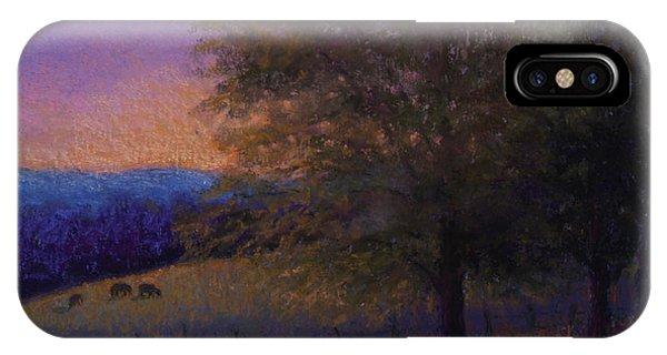 Sunset Pasture IPhone Case
