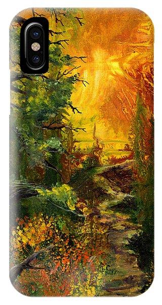 Sunset Path IPhone Case