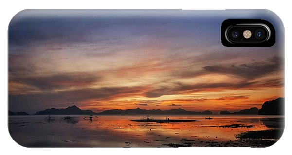 Sunset Pi IPhone Case
