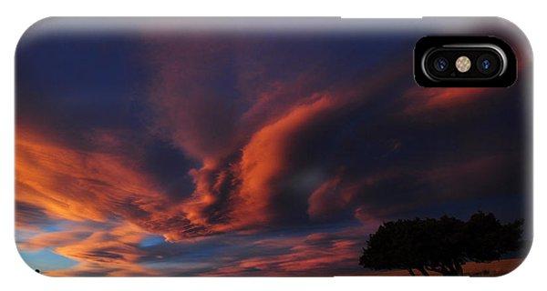 Sunset Plains IPhone Case