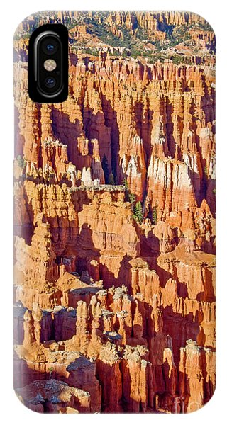 View Point iPhone Case - Sunset Point Bryce Canyon by Delphimages Photo Creations