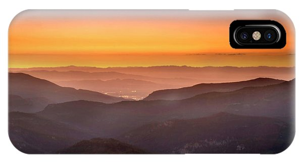 Sunset Point IPhone Case