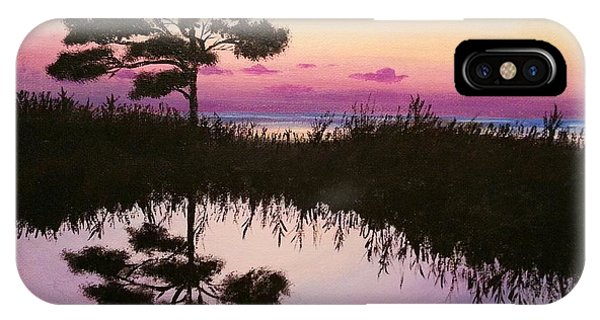 Sunset Reflection IPhone Case
