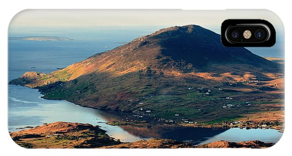 Sunset Reflection In Connemara Ireland Phone Case by Pierre Leclerc Photography