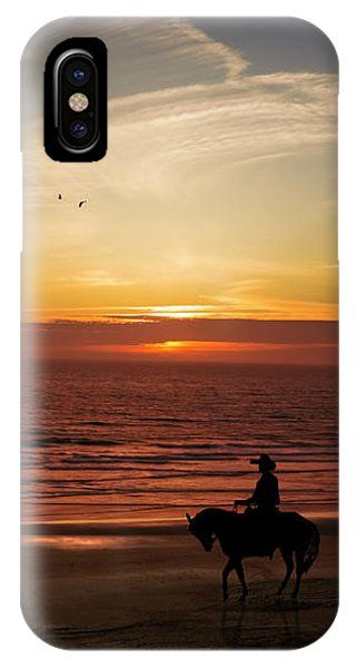 Sunset Ride IPhone Case
