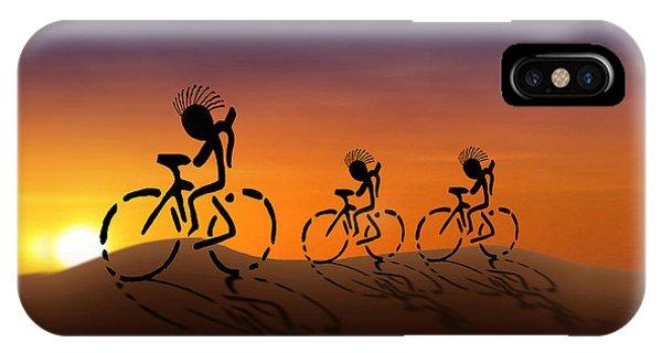 Sunset Riders IPhone Case
