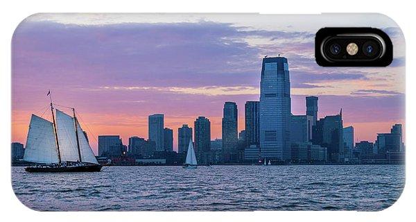Sunset Sail - Hudson River IPhone Case
