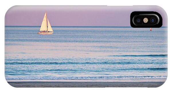 Sunset Sail - Ogunquit -maine IPhone Case