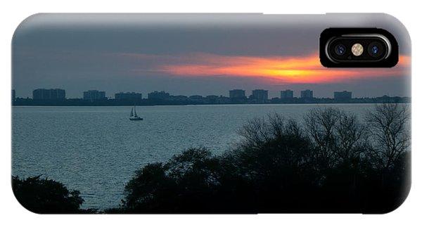 Sunset Sail On Sarasota Bay IPhone Case