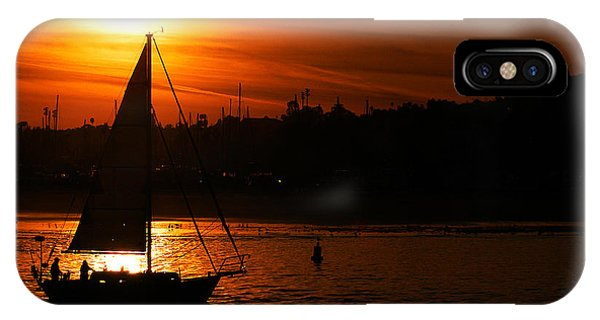 Sunset Sailing IPhone Case
