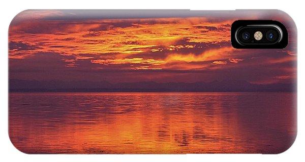 Sunset Sequim IPhone Case