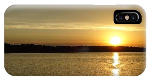 Sunset Shelbyville Il IPhone Case