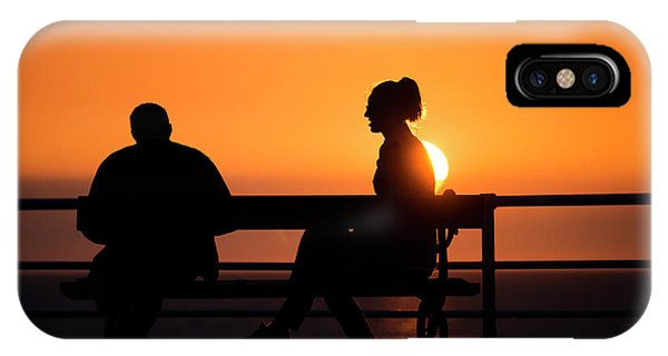 Sunset Silhouettes IPhone Case