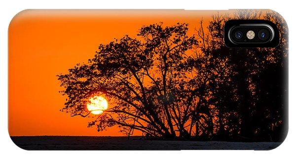 Sunset Sillouette IPhone Case