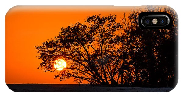 Sunset Sillouette IPhone Case