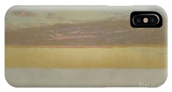Endless iPhone Case - Sunset Sky, 1872 by John Frederick Kensett