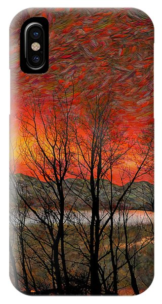Sunset Soliloquy IPhone Case