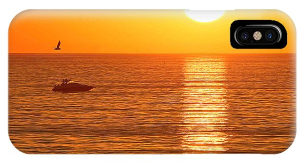 Sunset Solitude IPhone Case