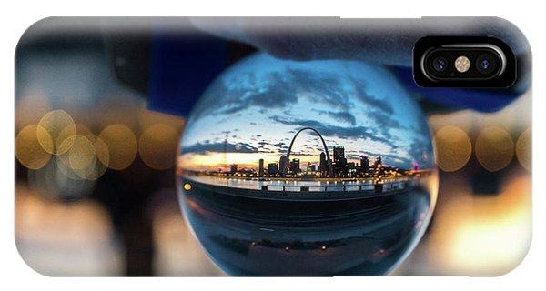 IPhone Case featuring the photograph Sunset St. Louis II by Matthew Chapman