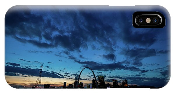 IPhone Case featuring the photograph Sunset St. Louis IIi by Matthew Chapman