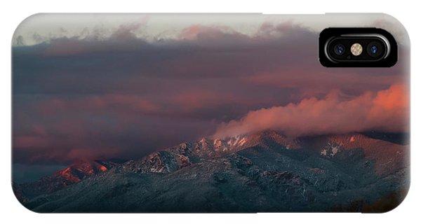 Sunset Storm On The Sangre De Cristos IPhone Case