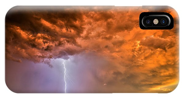 Sunset Strike IPhone Case