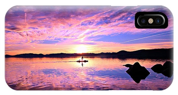 Sunset Supper IPhone Case
