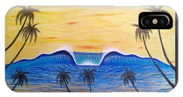Sunset Surf Dream IPhone Case
