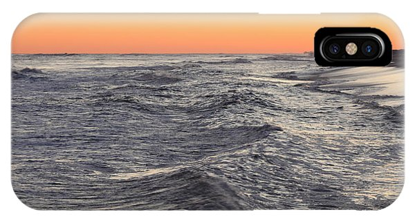 Sunset Surf Fishing IPhone Case