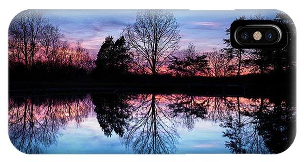 Sunset Symmetry IPhone Case