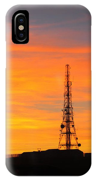 Sunset Tower IPhone Case