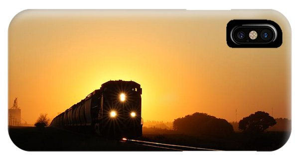 Sunset Express IPhone Case