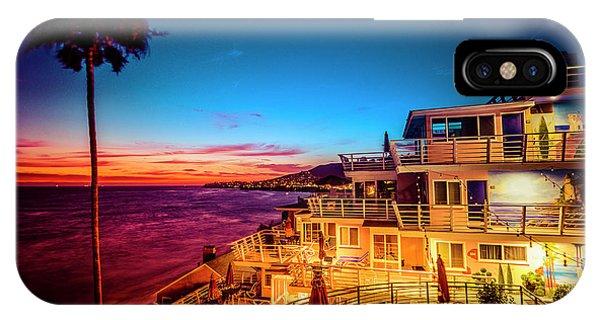 Sunset Twilight At The Laguna Riviera IPhone Case
