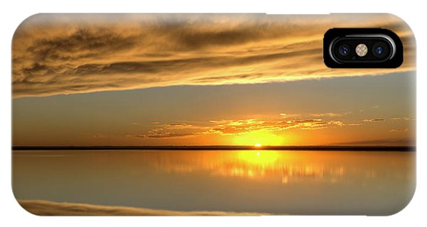 Sunset Under The Clouds IPhone Case