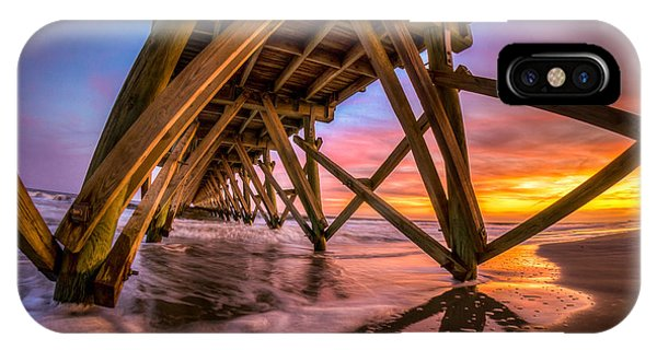 Sunset Under The Pier IPhone Case