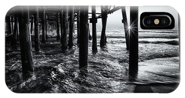 Sunset Under The Santa Monica Pier IPhone Case