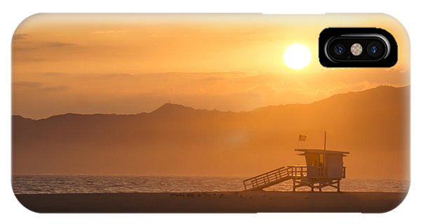 Sunset Venice Beach  IPhone Case