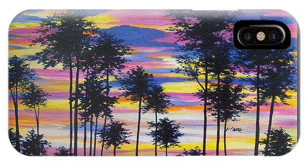 Sunset View IPhone Case