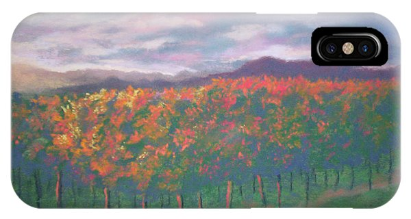 Sunset Vineyard IPhone Case