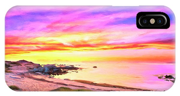 Hawaiian Sunset iPhone Case - Sunset Walk 2 by Dominic Piperata