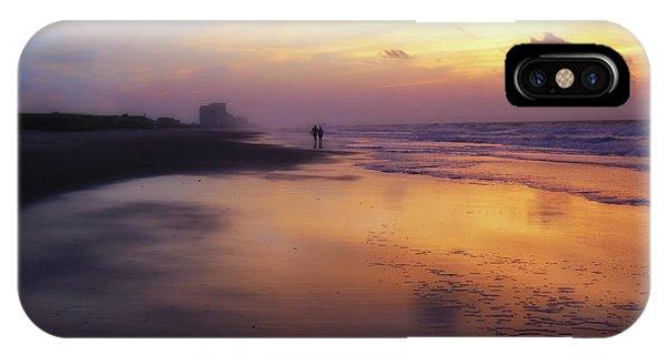 Sunset Walk On Myrtle Beach IPhone Case